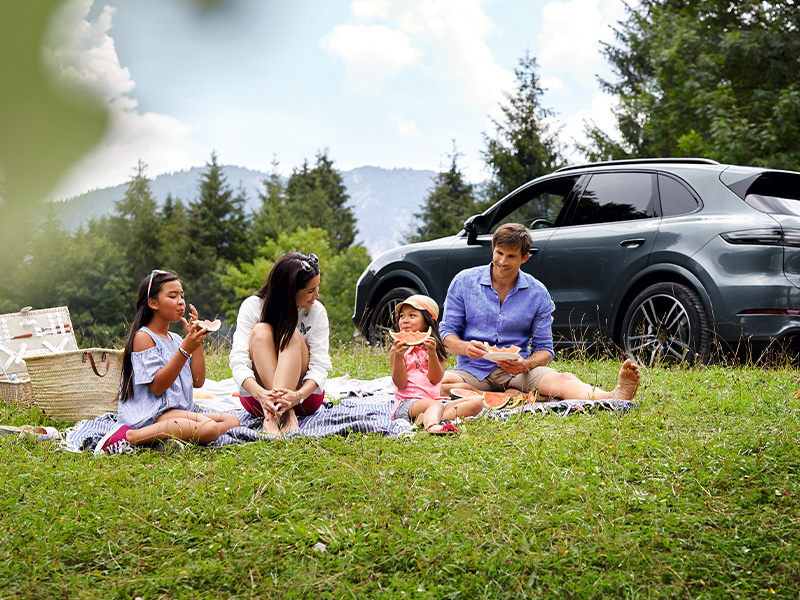 「Cayenne Active Weekend」のご案内
