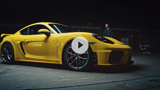 Driving footage 718 Cayman GT4