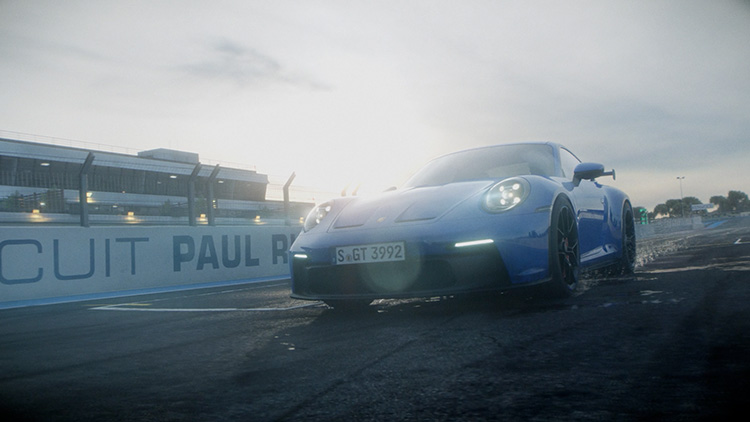 911 GT3 Driving footage