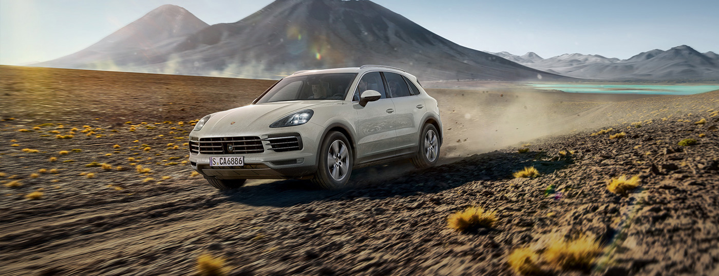 Porsche Cayenne Journey of Discovery カイエンのオンロードとオフロードでのパフォーマンスを存分に体験する旅へご招待