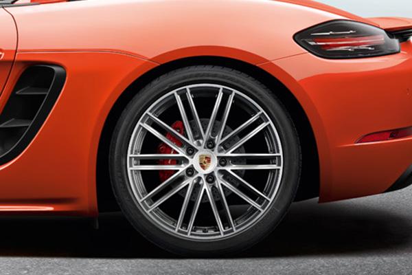 20インチ 911 ターボ ホイール&サマータイヤ