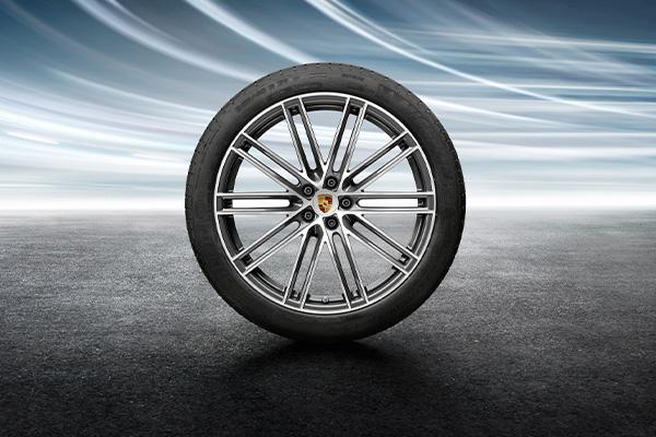 21インチ 911 ターボデザイン ホイール&サマータイヤ