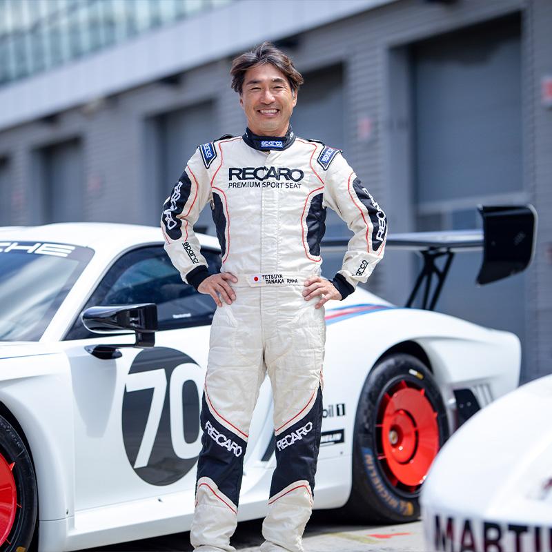 Porsche Track Experience 田中哲也チーフインストラクター