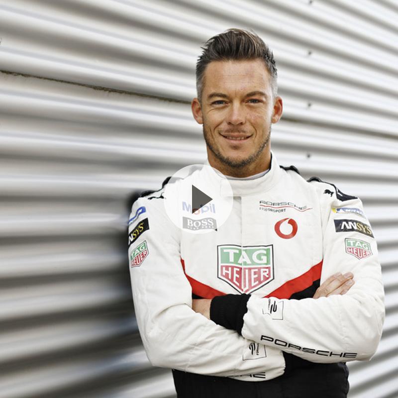 Porsche Formula E Driver アンドレ・ロッテラー選手